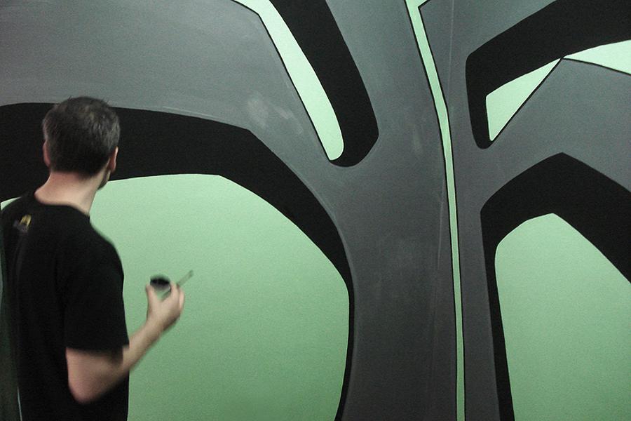 Mural at Rosanna
